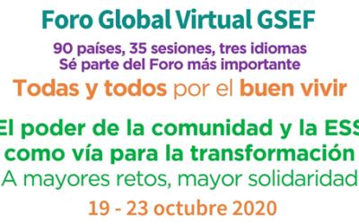 El projecte A-porta de la CONFAVC participa al Fòrum Global de l'Economia Social (GSEF) virtual