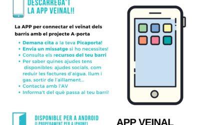La APP Veinal ja disponible a l'APP Store amb una secció especial d'A-porta